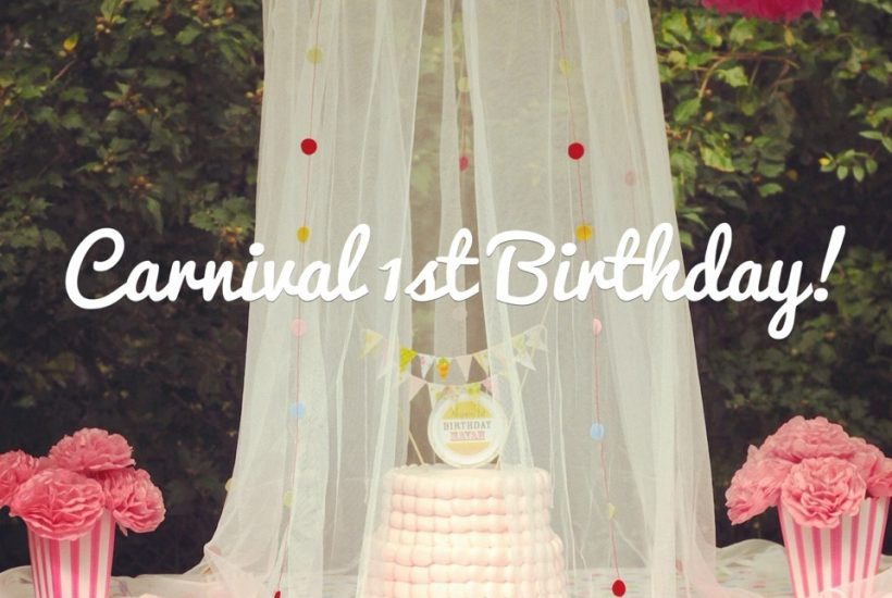 Carnival 1st Birthday Party