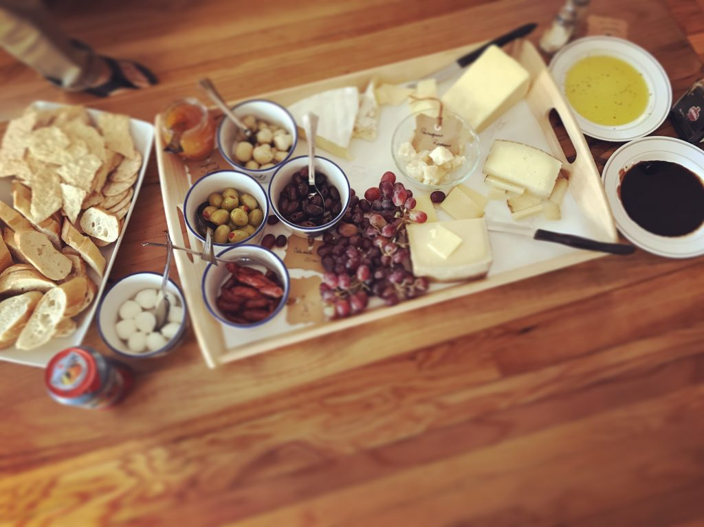 Cheese Charcuterie Board 2