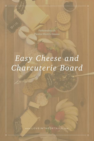 Easy Cheese Charcuterie Board 3
