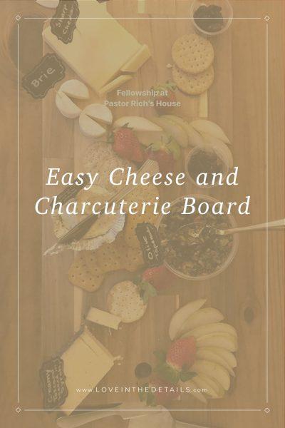 Easy Cheese Charcuterie Board 3