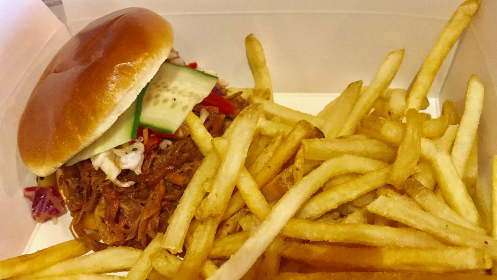 Food at Disney World Pulled Pork