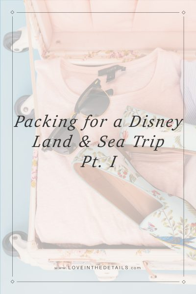 Packing for a DisneyCruise